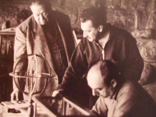 Diego Rivera, Jorge Amado e Pablo Neruda.