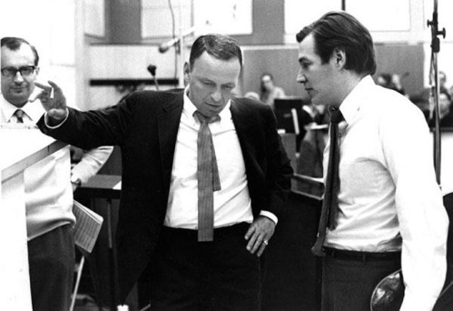 Frank Sinatra e Antônio Carlos Jobim.