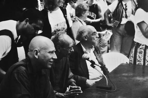 Sebastião Salgado, Betinho e José Saramago.