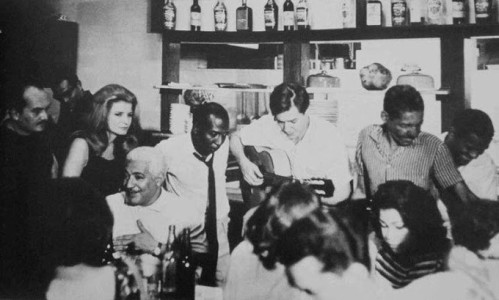 Billy Blanco, Odete, Dorival Caymmi, Zé Keti, Tom Jobim e Cartola.