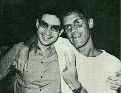 Renato Russo e Cazuza.
