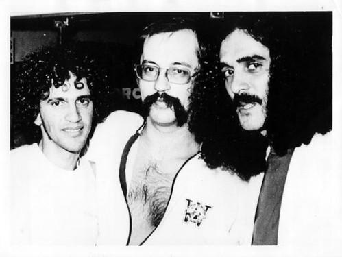 Caetano Veloso, Paulo Leminski e Moraes Moreira.